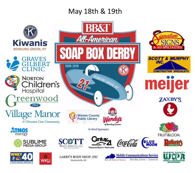 2018 Bbt Soap Box Derby Website Sponsor Design